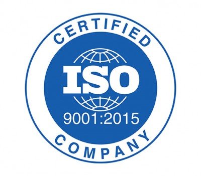 Renewal of our ISO certification according to the ISO 9001:2015 Standard